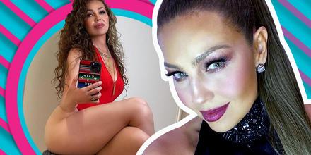 Thalía y las impactantes fotos en bodysuit con un fuerte mensaje