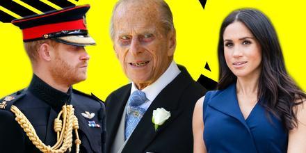 Meghan Markle y Harry: El escueto mensaje tras muerte del príncipe Felipe