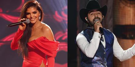 Ana Bárbara y Joss Favela en el tributo a Joan Sebastian de los Latin American Music Awards 2021