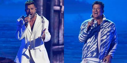 Ricky Martin y Carlos Vives cantan en los Latin American Music Awards 2021