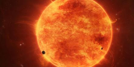 Solar Eruption Rises Above Sun
