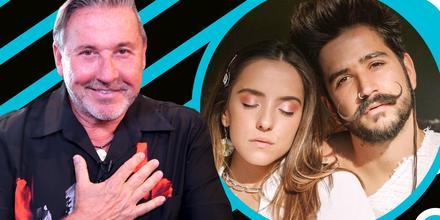 Eva Luna y Camilo en imagen íntima que dicen infartará a Ricardo Montaner