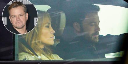 Matt Damon, Jennifer Lopez y Ben Affleck