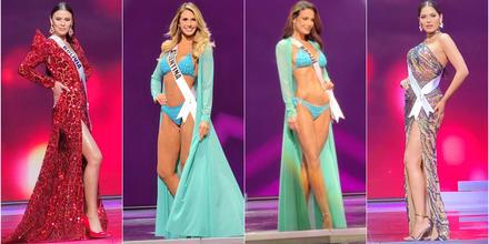 candidatas latinas a Miss Universo 2021, 69na. edición competencia preliminar