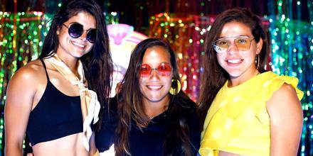 Viviana, Nathalia y Palafox