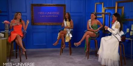 Jacky Bracamontes y candidatas latinas a Miss Universo 2021