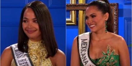 Kimberly Jiménez, Miss República Dominicana 2020 y Andrea Meza, Miss México 2020, candidatas a Miss Universo 2021, 69na. edición