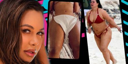 Chiquis, sin ropa, muestra cómo ha cambiado su cuerpo desde las fotos de Tulum