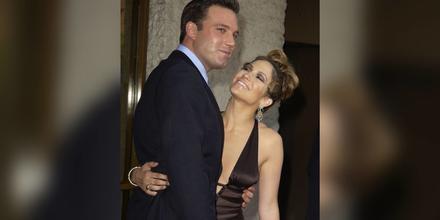Ben Affleck y Jennifer Lopez en el estreno 'Gigli' en 2003