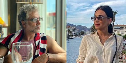 Alejandro Fernández y Karla Laveaga en España