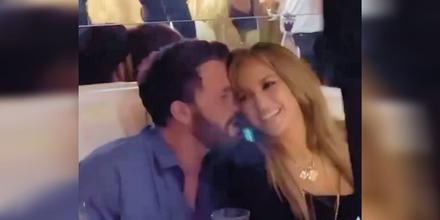Ben Affleck y Jennifer Lopez de fiesta en L'Opera Saint Tropez