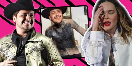 Christian Nodal es el hazme reír tras rumores de truene con Belinda
