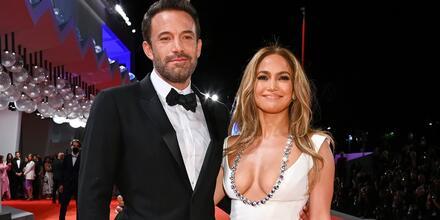 Jennifer Lopez y Ben Affleck  Gala Venecia