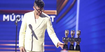 Bad Bunny en los Premios Billboard 2021