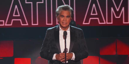 José Luis Rodríguez 'El Puma' en los Latin American Music Awards 2021