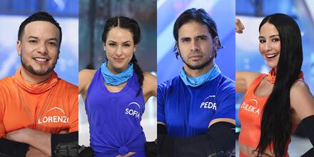 Lorenzo Méndez, Sofía Lama, Pedro Moreno y Zuleika Soler en El Domo del Dinero