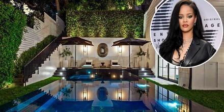 Rihanna y su mansión de Beverly Hills