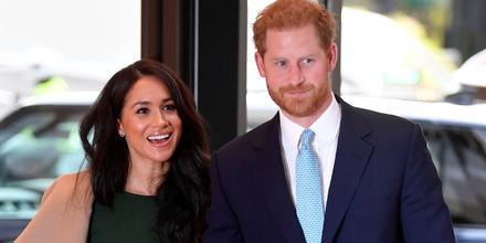 Meghan Markle y el príncipe Harry, Londres, Inglaterra, 2019