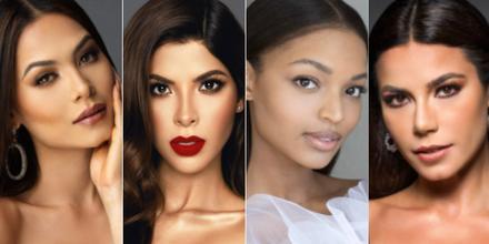 Miss México, Miss Colombia, Miss Estados Unidos, Miss Brasil