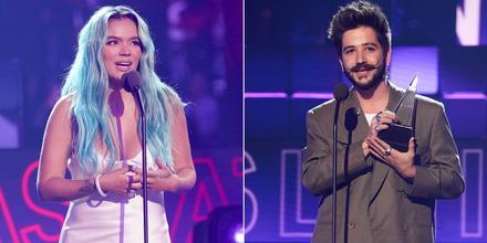 Karol G y Camilo, ganadores en los Latin American Music Awards 2021
