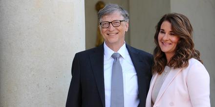 Bill Gates y Melinda Gates, 2017