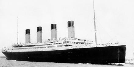 Carta niña pasajera Titanic