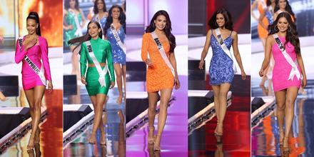 Candidatas a Miss Universo 69na edición, finalistas del Top 5