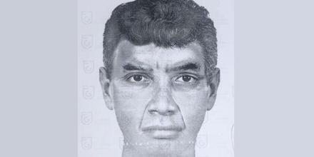 """Boceto del llamado """"violador del periférico"""" en Ciudad de México"""
