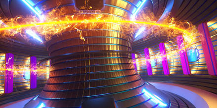 Fusión nuclear imán