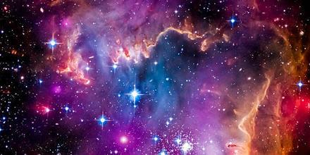 Mano fantasma en la Vía Láctea
