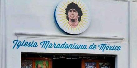 Iglesia Maradoniana en México