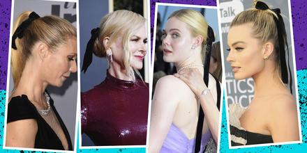 Apasiónate por los moños para el cabello como las estrellas de Hollywood | Telemundo