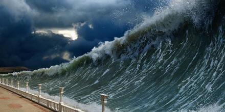 Megaterremoto olas gigantes