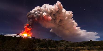 Volcán Etna más alto