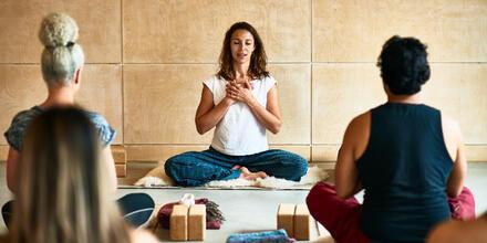 Meditación ante el estrés