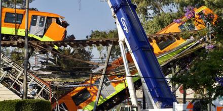 Colapso del metro México