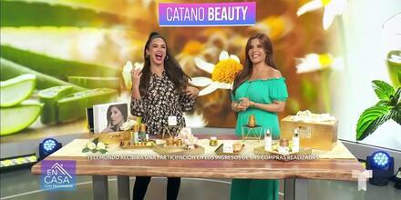 Luce bella con los productos creados por Adriana Cataño | Telemundo