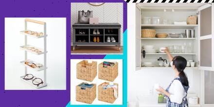 Mantente organizado con estos 12 muebles y accesorios | Telemundo