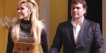 Gloria Trevi y esposo