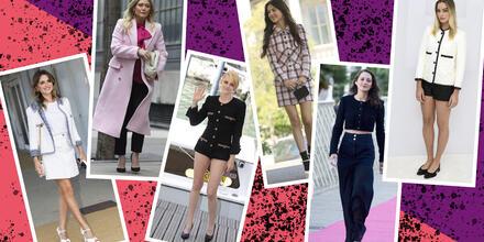 Tweed: el tejido de antaño que las celebs regresan a la moda   Telemundo