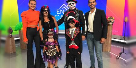 Disfraces y complementos de Día de Muertos para la familia | Telemundo