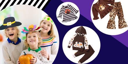 Outfits infantiles para la Acción de Gracias por menos de $56 | Telemundo