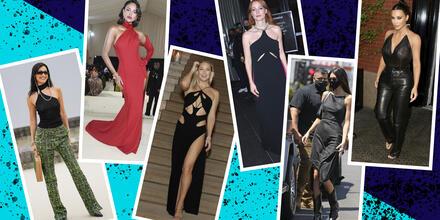 16 prendas con escote halter que las famosas adoran portar | Telemundo