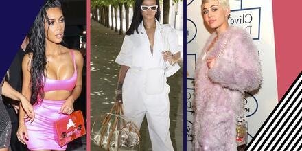 Bolsos translúcidos que aman utilizar las celebridades | Telemundo