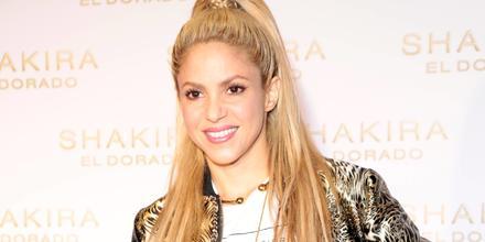 Shakira en la presentación de su disco 'El Dorado' en 2017