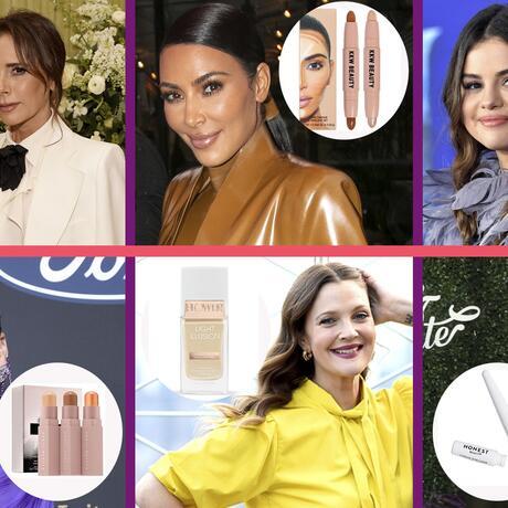 Maquillaje Selena Gomez, Jessica Alba, Victoria Beckham, Kim Kardashian, Rihanna y Drew Barrymore