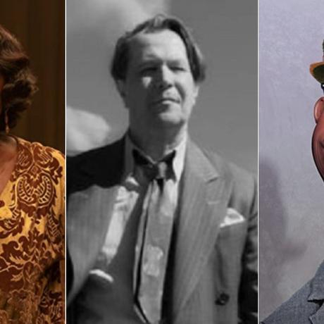 Viola Davis en 'Ma Rainey's Black Bottom'; Gary Oldman en 'Mank'; Soul