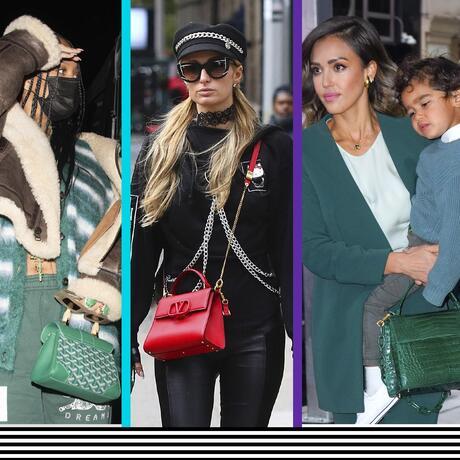 Bolsos de colores como los de las celebridades