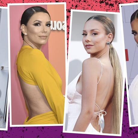 La moda de las espaldas descubiertas que llevan las celebs | Telemundo
