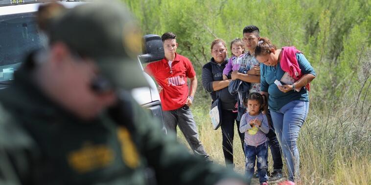 Solicitantes de asilo de Centroamérica.